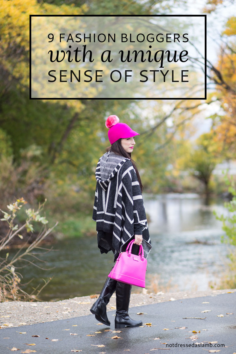 9 Unique Style Fashion Bloggers \ Not Dressed As Lamb style blog