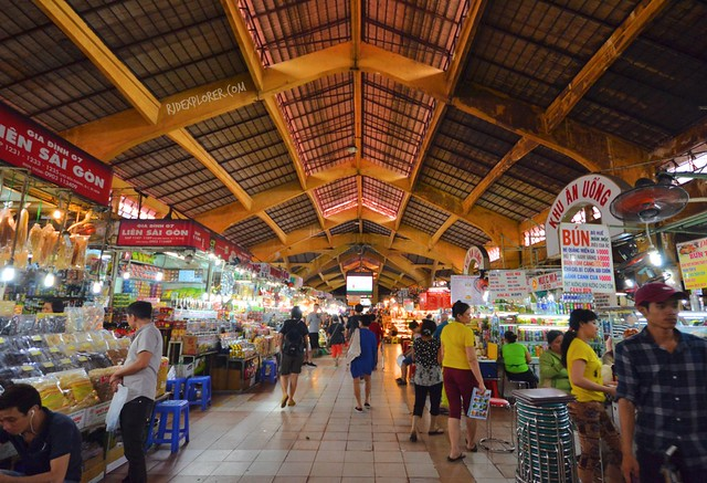 diy saigon city tour BEN THANH MARKET