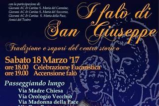 Noicattaro. Festa di San Giuseppe front