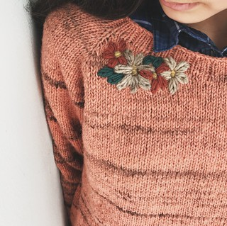 top-down sweater | by Rosa Pomar