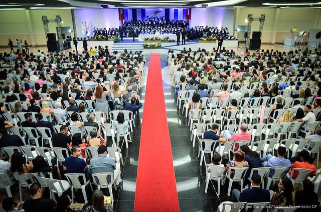 Faculdade Senac realiza graduação de 150 tecnólogos