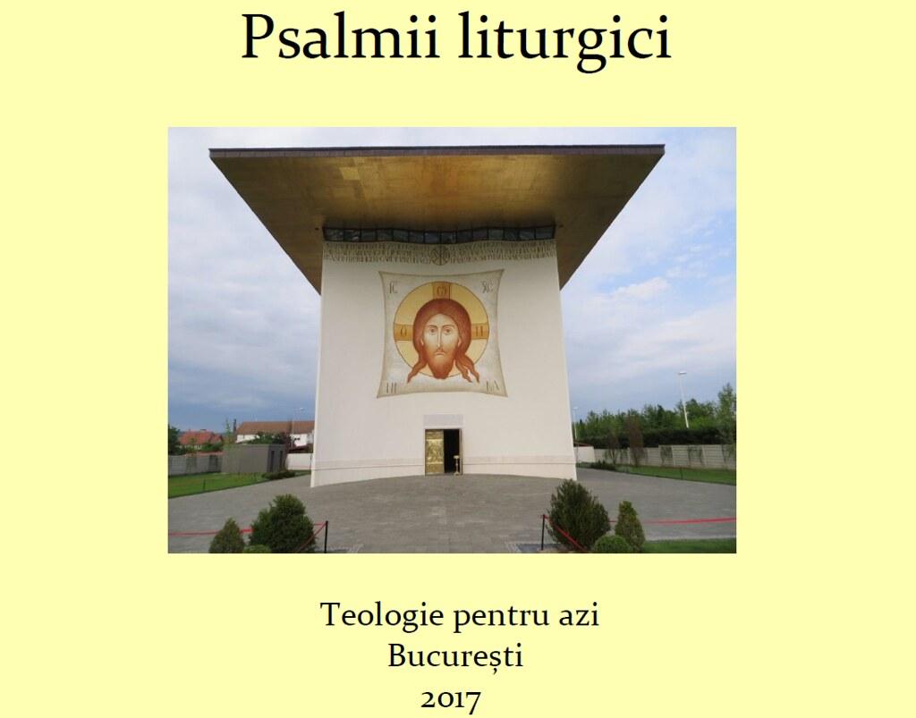 Psalmii liturgici