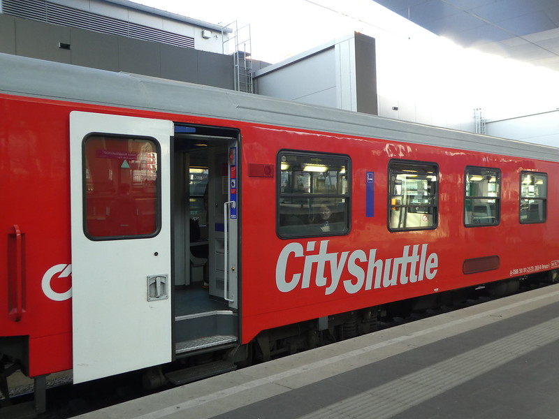 City Shuttle train between Bratislava and Vienna