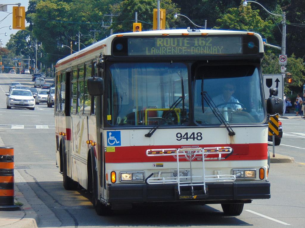 ttc orion v 9448 on route 162 lawrence-donway | transit_central | flickr
