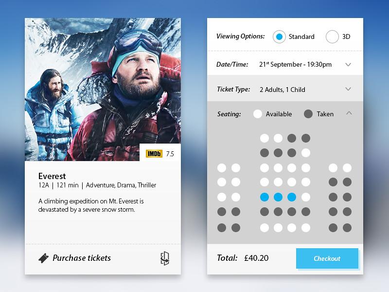 Everest Cinema App 1