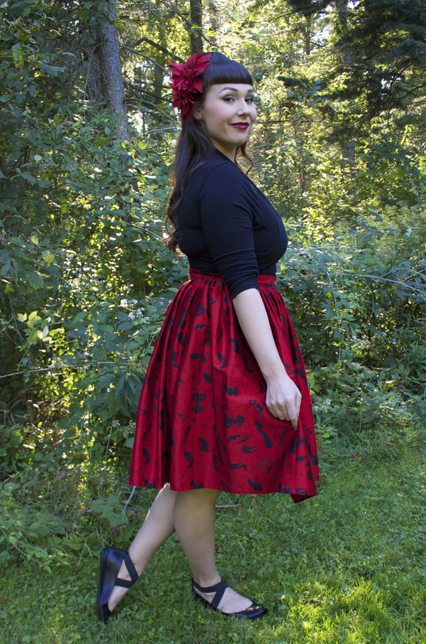 deadly dames skirt