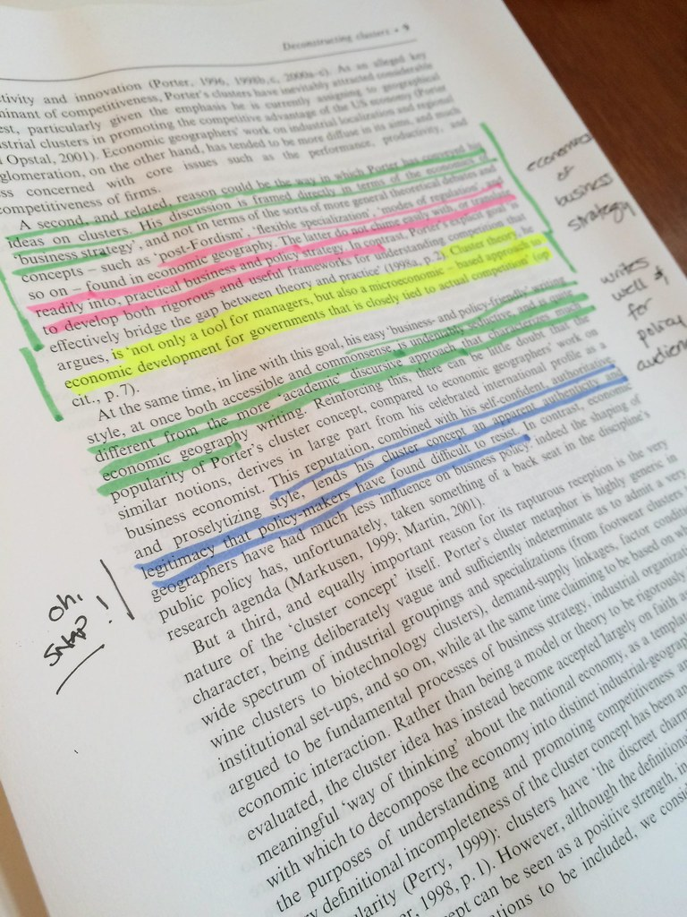 ... Highlighting and writing by hand - by Raul P