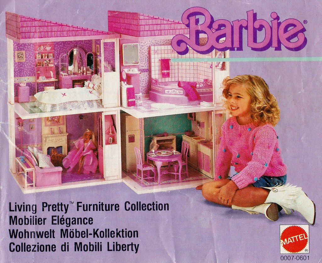 1987 Barbie Living Pretty Furniture Collection Catalogue