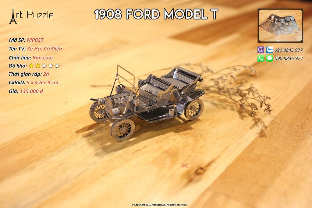 Art Puzzle - Chuyên mô hình kim loại (kiến trúc, tàu, xe tăng...) tinh tế và sắc sảo - 32