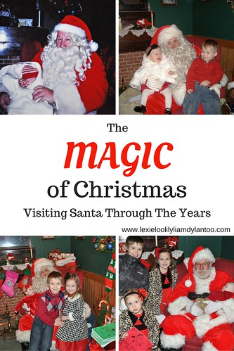 The Magic of Christmas - Visiting Santa Through the Years