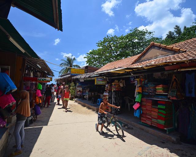 Puestos y tiendas de Railay