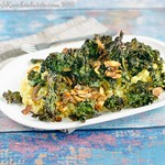 Curly Kale Salad with Toasted Coconut
