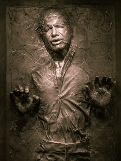 Han Solo in Carbonite | by wwarby