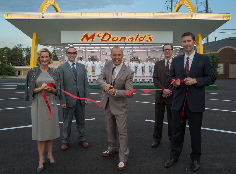Michael Keaton is the guy who stole everything from the original founders of McDonald's in THE FOUNDER.