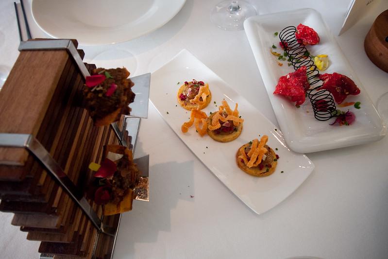 Amuse-bouche, restaurante ARZAK