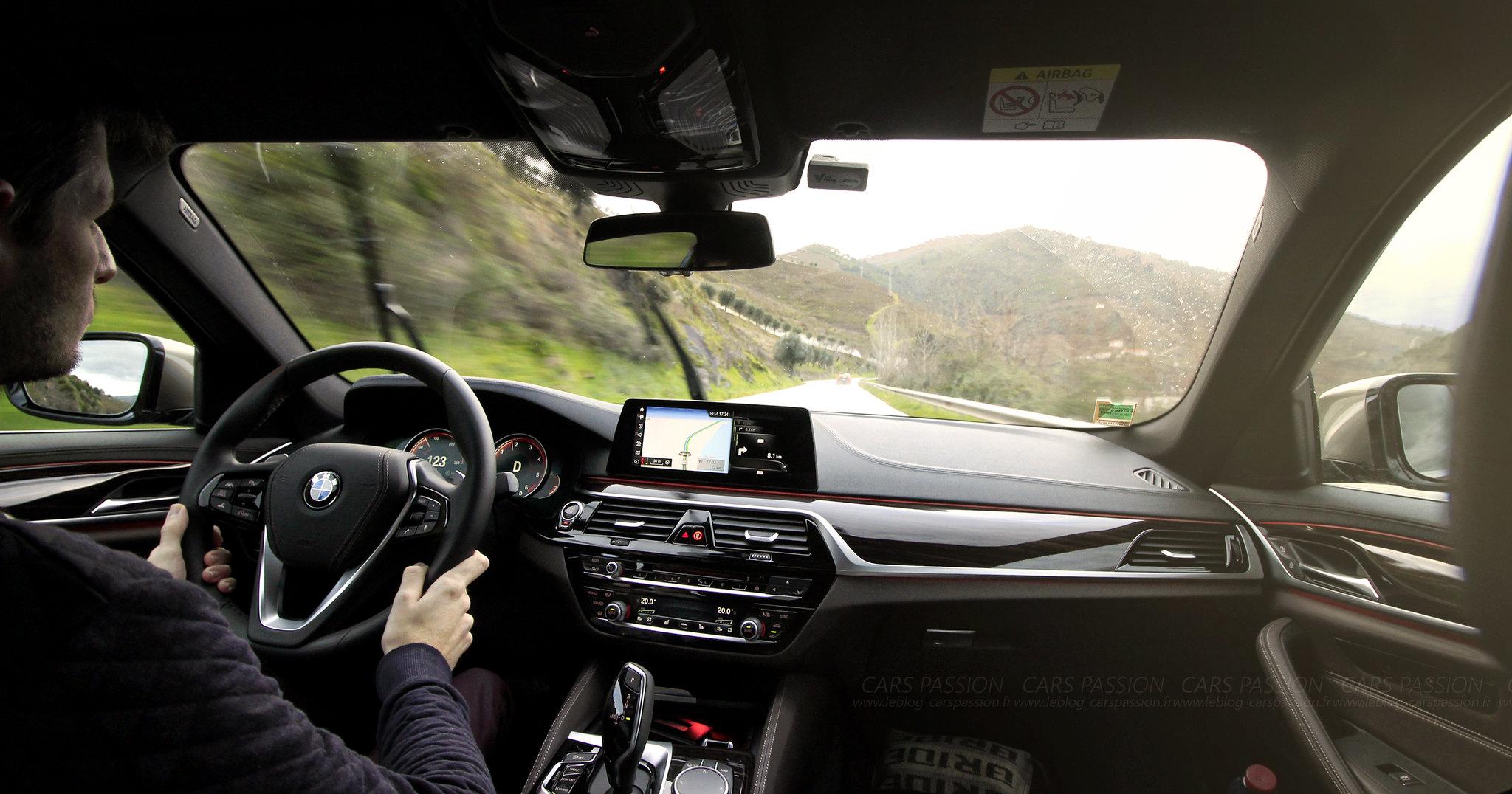 Essai Nouvelle BMW Série 5 2017 G30 au Portugal