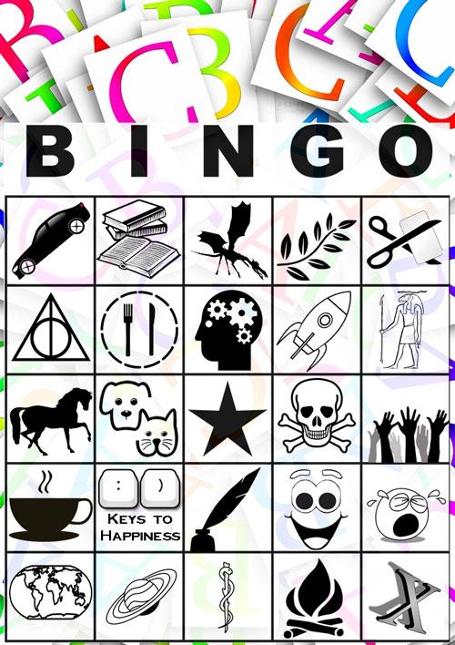 #atozchallenge A to Z bingo By @JLenniDorner