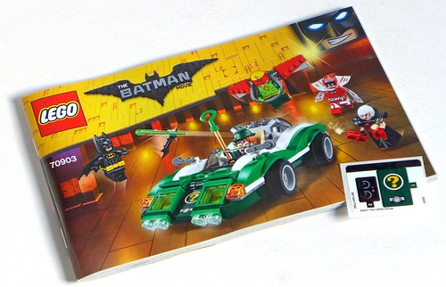 LEGO The Batman Movie 70903 The Riddler Riddle Racer 03