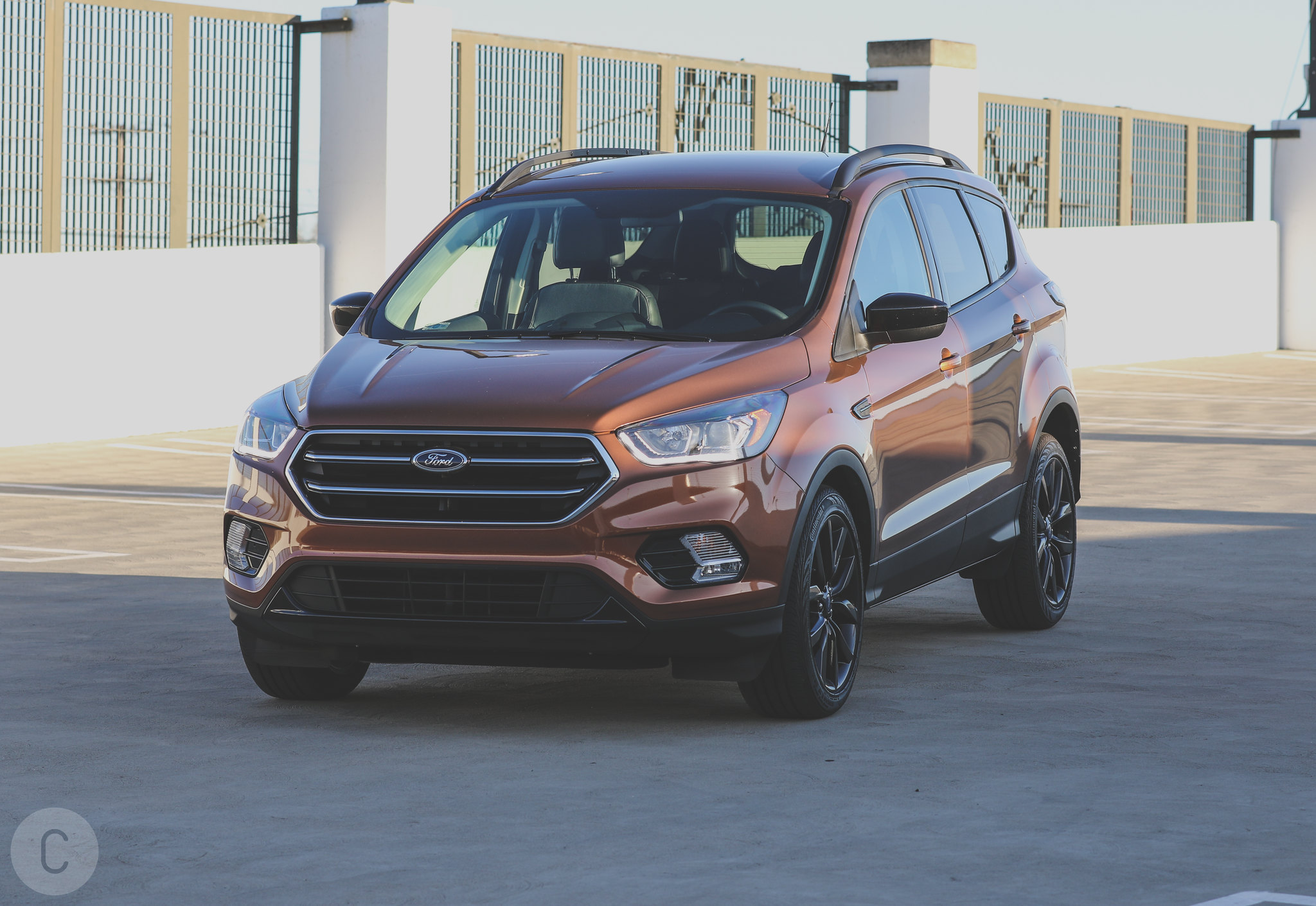 2017 Ford Escape is in the CF Garage