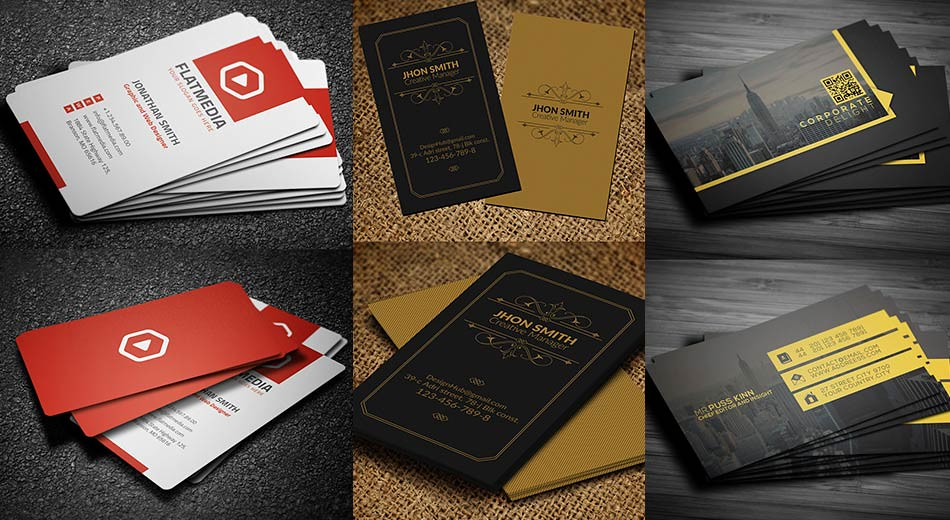 creative business cards design examples to inspire you - Creative Business Cards