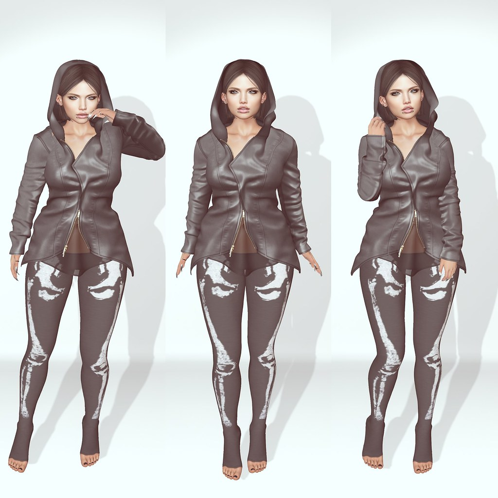 ::OOPS:: Skully Pants (TDE) & +Kiss Me Poses+ ((Bento)) Athena