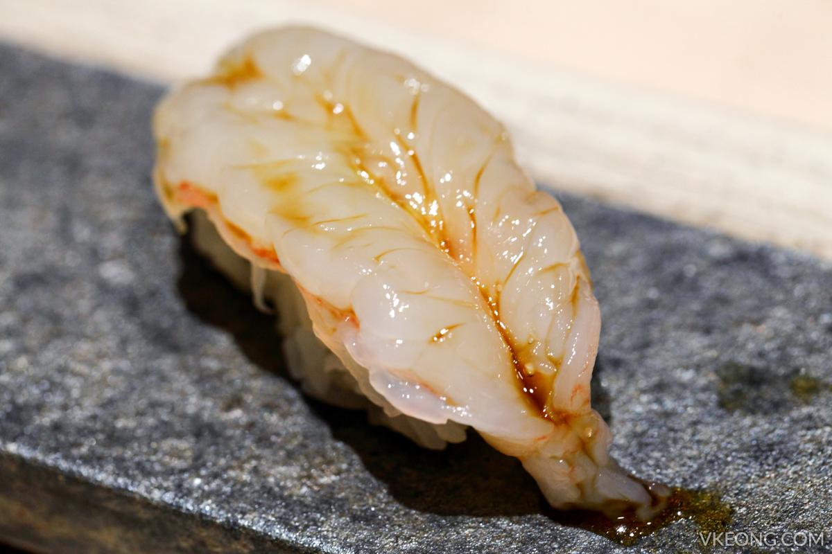 Sushi Azabu Jumbo Ebi Nigiri