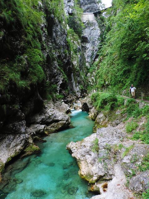 Tolmin Gorges, Slovenia