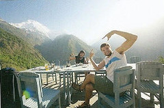 Sandra i Ivo ben trobats al Nepal.