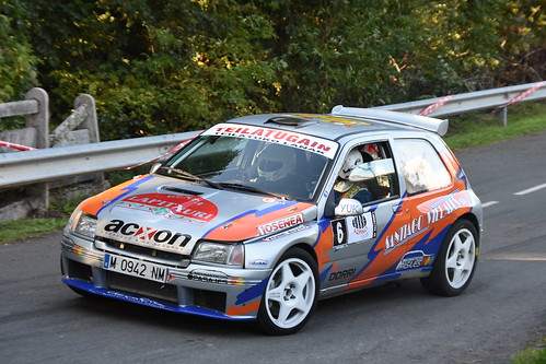 Mattin Villares - Andoni Blas, XIV Rallysprint de Aramaio