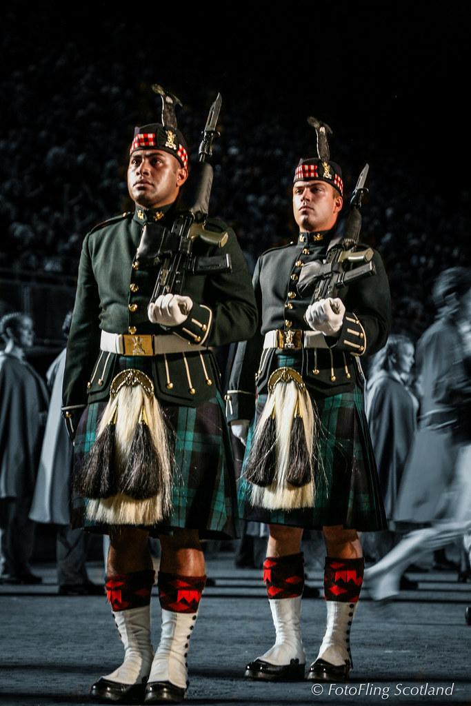 The Black Watch Parade the Royal Mile Edinburgh, Scotland ...