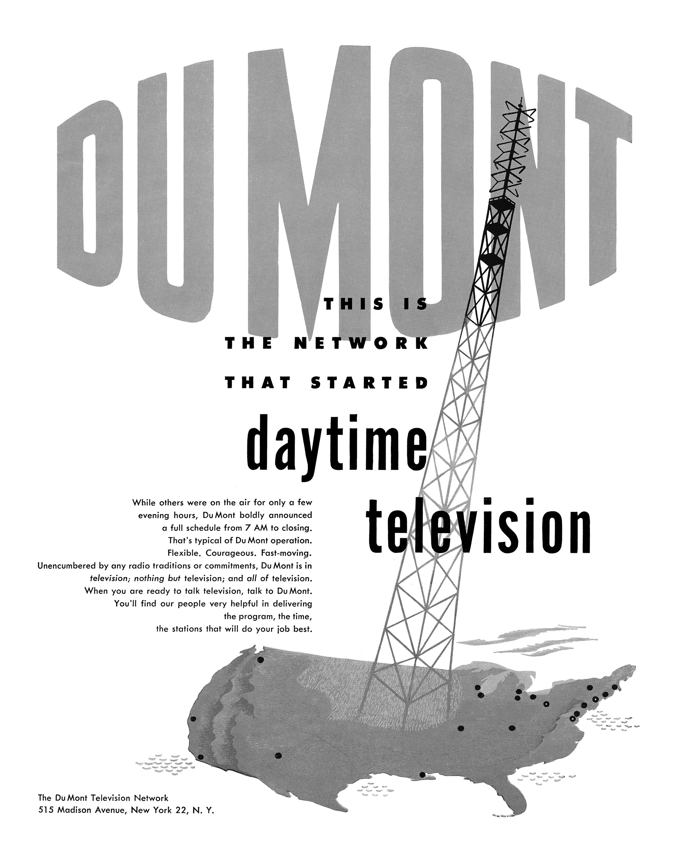 Du Mont Television Network - 1949