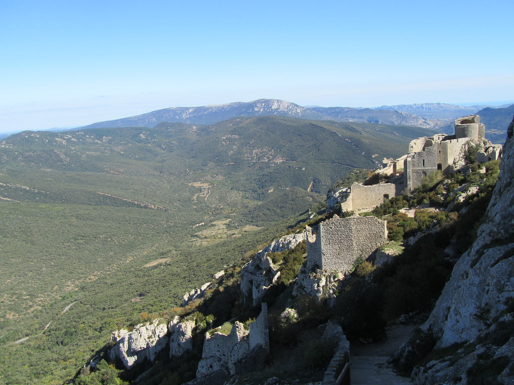 Castillo Cátaro de PEYREPERTUSE