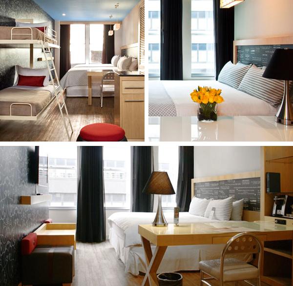 Habitaciones del Hotel Tryp Times Square en Nueva York perfectas para viajar con niños