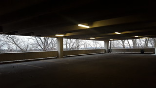 Normal Hill parking structure