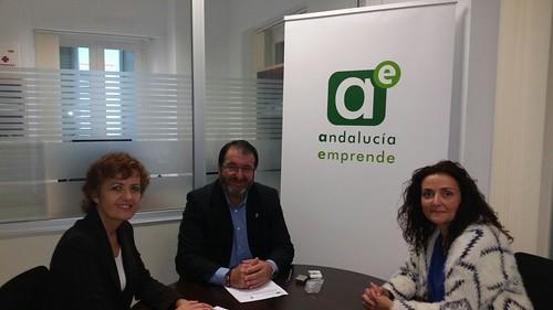 AionSur 32249661310_f8c4a65c58_d El Ayuntamiento de Carmona y Andalucía Emprende renuevan su compromiso para fomentar la actividad empresarial de la localidad Carmona Provincia