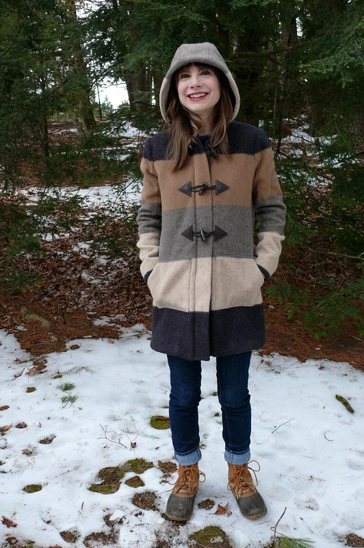 Grainline Studio Cascade Duffle Coat | Ginger Makes