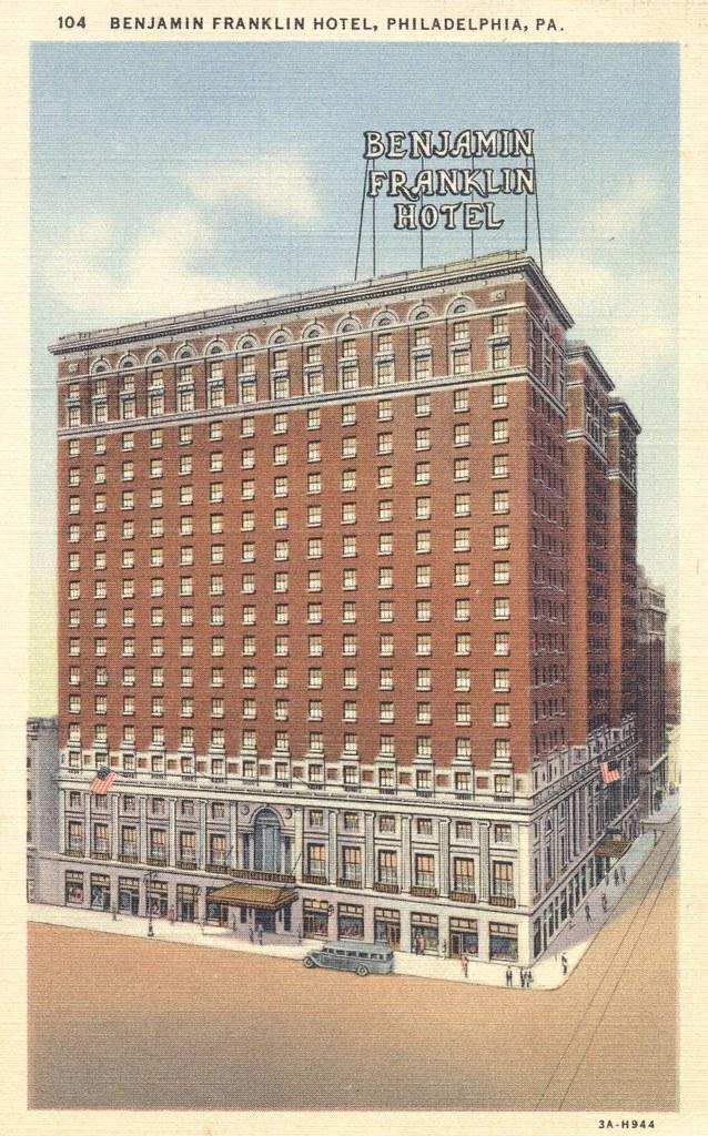 Benjamin Franklin Hotel - Philadelphia, Pennsylvania