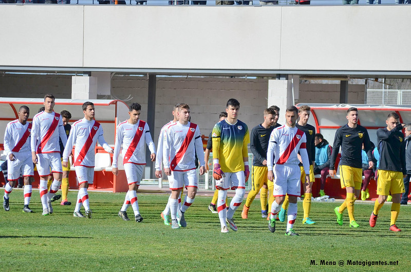 "Rayo Vallecano ""B"" 3-0 At.Madrid ""B"""