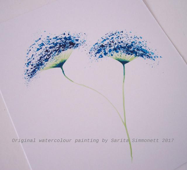 Watercolour card 4