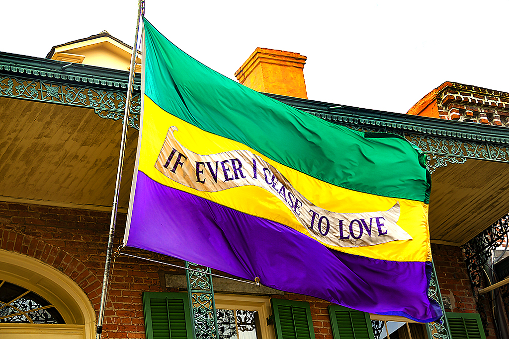 IF EVER I CEASE TO LOVE--New Orleans