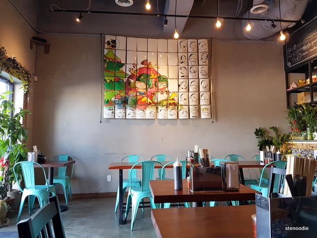 Nam Vietnamese Restaurant interior
