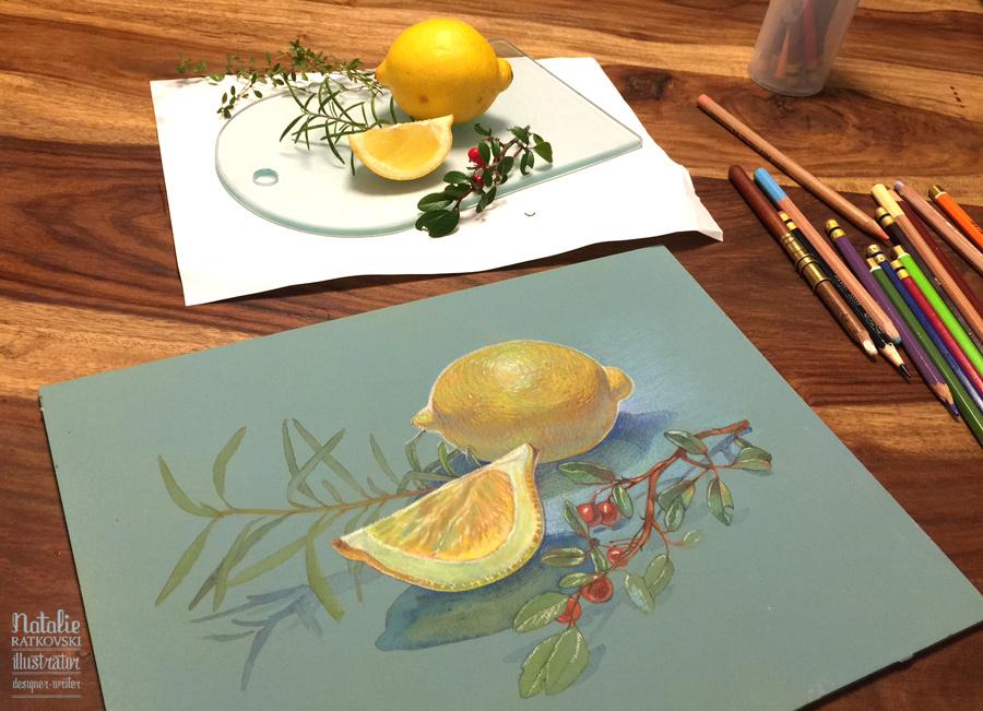 Lemons steps