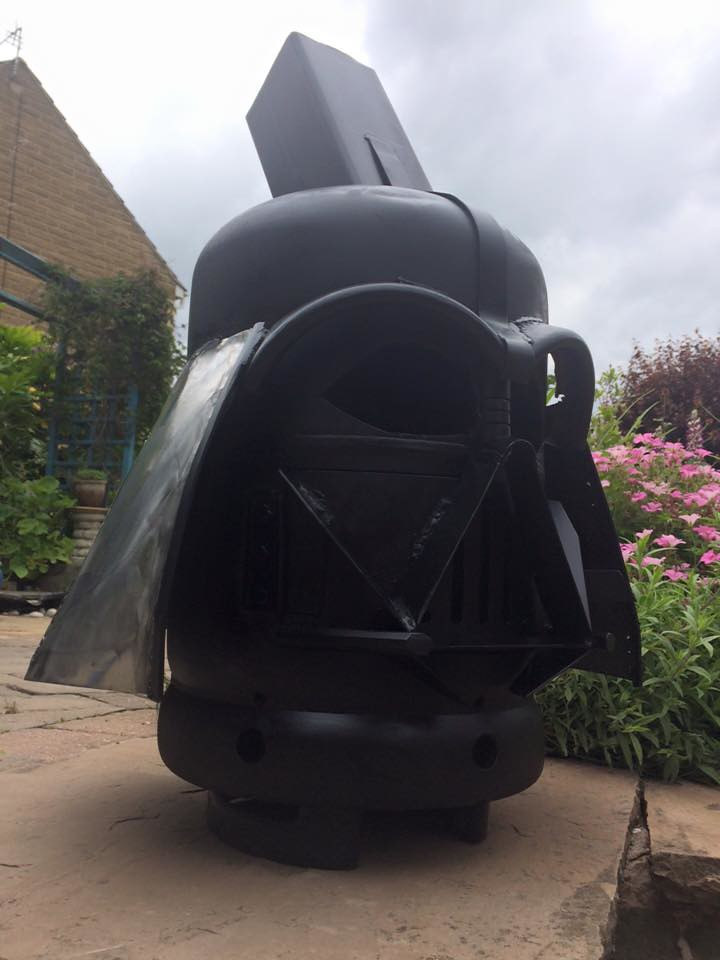 Wood burners & fire pits by Burned by Design - Star Wars Darth Vader