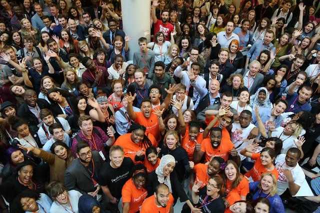 Young people attend a DFID Youth Summit