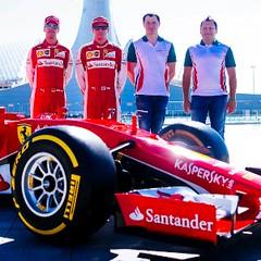 Ferrari y Kaspersky
