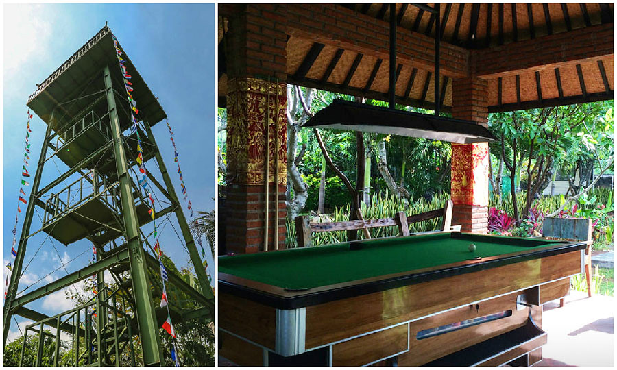 4-lovina8 skytower pool table-viaAirbnb
