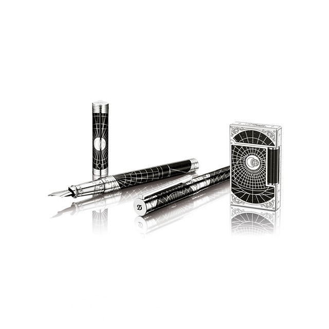 S.T.Dupont France DuPont Shoot the Moon limited series Premier Edition writing instrument
