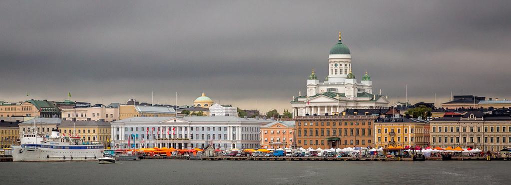 Helsinki Skyline Helsinki Is The Capital Of Finland And