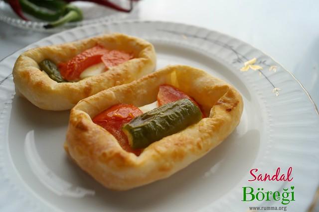 sandal böreği tarifi