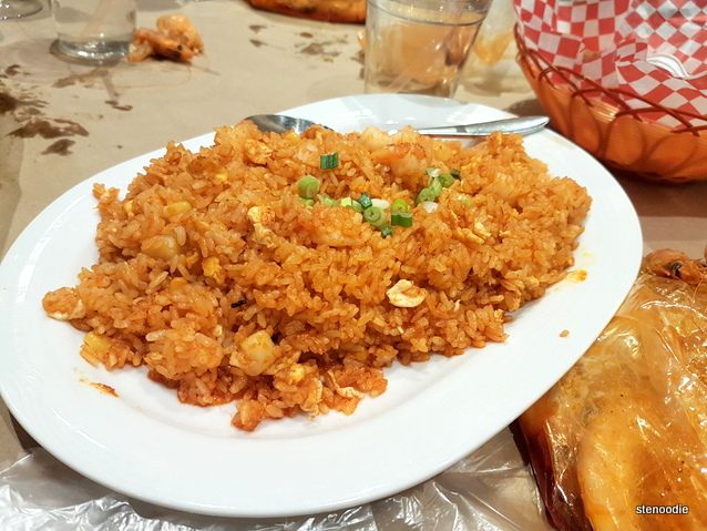 Cajun Seafood Fried Rice